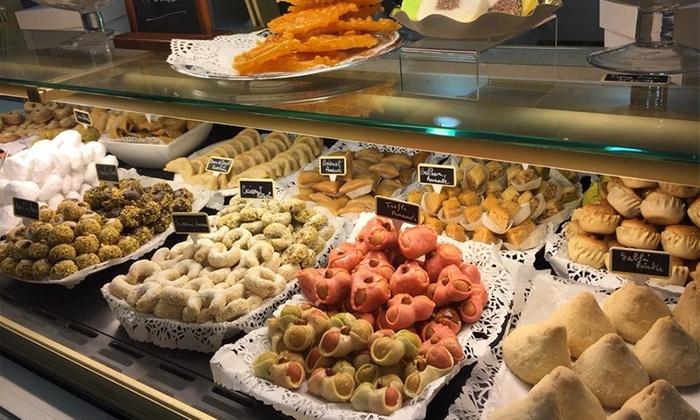 pâtisseries orientales des Délices Orientaux d'Hassana Les Halles Châtelet Orléans
