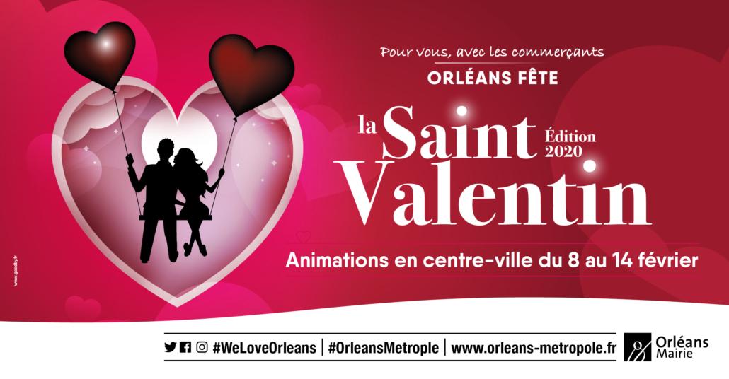 Halles châtelet Orléans saint valentin 2020